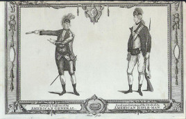 Uniforms of American colonial soldiers