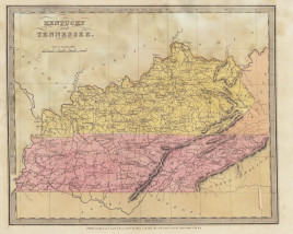 "David H. Burr. ""Kentucky and Tennessee."""