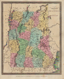 "David H. Burr. ""Vermont and New Hampshire."""