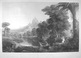 Thomas Cole's Voyage of Life-Youth