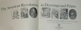 The American Revolution in Drawings and Prints