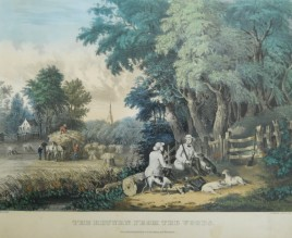 Currier & Ives Return from the Woods