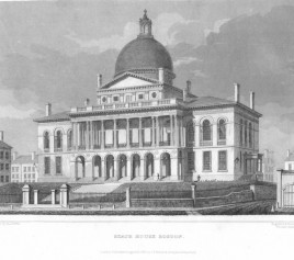 State House, Boston; Hinton