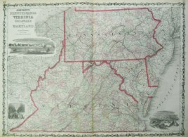 Johnson 1862 Mid-Atlantic states