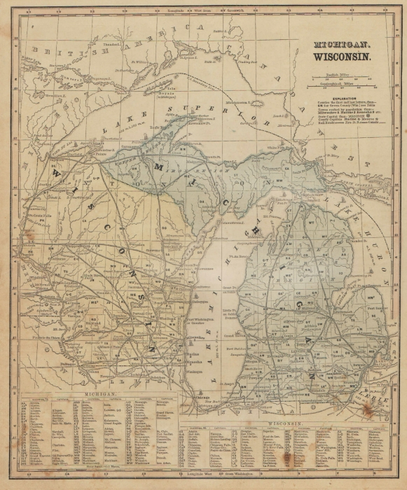 Smith's 1860 Upper Midwest