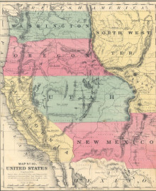 Roswell Smith Map No. 10. United States