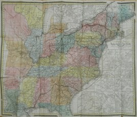 Tanners Travellers Guide and Map of the US 1844
