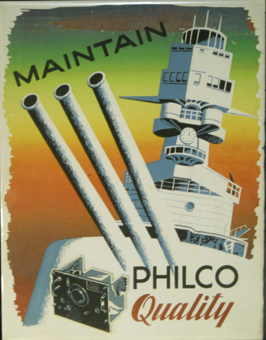 Maintain Philco Quality
